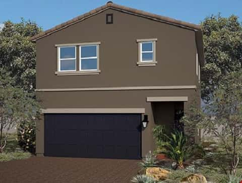 The Residence 1339 Plan at Brookfield by Harmony Homes in Las Vegas, NV