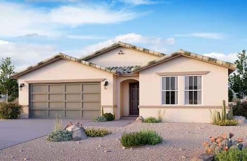 The Spring Plan at Burson Ranch by Beazer Homes in Pahrump, NV
