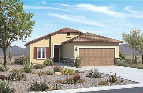 The Desert Spoon Plan by Pulte Homes in Red Rock, Arizona