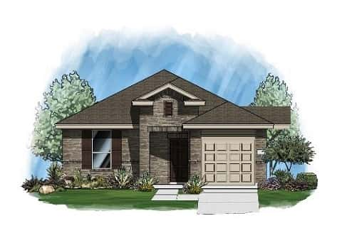 The Brazos Plan by Linndale Homes
