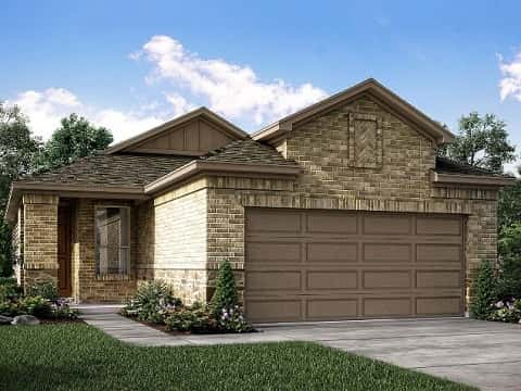 The Denali Plan by Meritage Homes