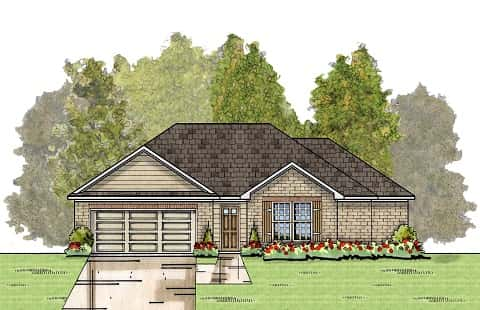 The Evergreen Plan by Energy Smart New Homes, LLC