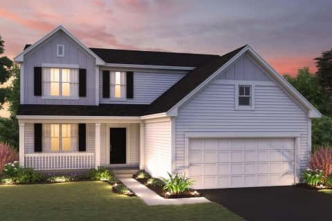 The Morgan Plan by M/I Homes