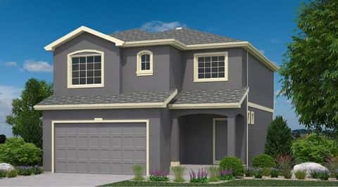 Lansford Plan by Oakwood Homes