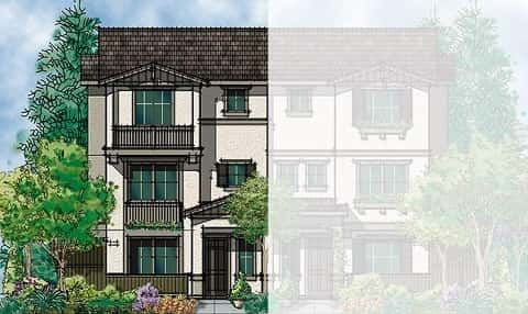 The Arbor Townhome Plan by Discovery Homes