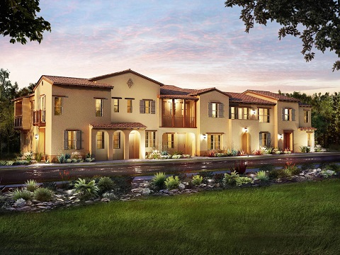Residence 1 Plan by Meritage Homes