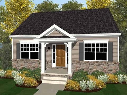 The Patterson Traditional Plan by Keystone Custom Homes
