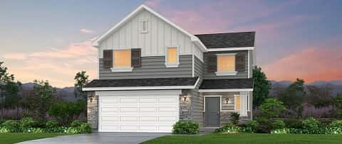 The Juniper SWS Plan by Woodside Homes