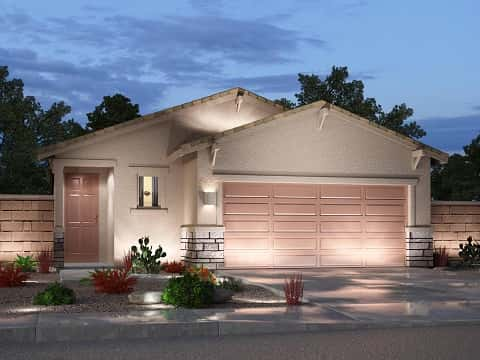 The Chopin Plan by Meritage Homes