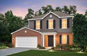 Newton Plan by Centex Homes in Louisiville, KY.