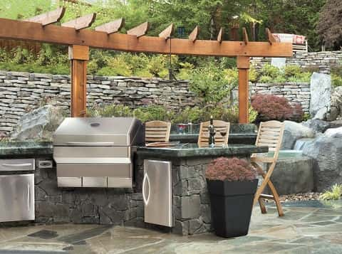 Elite Outdoor Kitchen Island