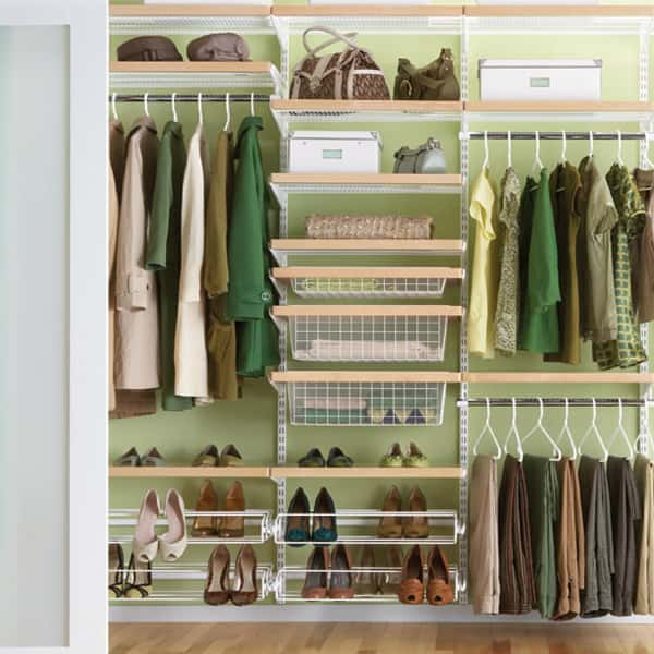 "The Container Store's Elfa products help you create the closet of your dreams without having to turn to a professional closet customizer.<br /> <br /> S. Lee Wright, a professional interior designer and owner of S. Lee Wright LTD and Holistic Interior Architecture in New York, N.Y., gives this system rave reviews. ""Elfa is hands down the most amazing system,"" she says. ""It's adjustable and flexible, so you can take it apart and reshape it to fit your needs as your life changes.""<br /> <br /> This wire system has rods for long and short hanging clothes, as well as shelves and drawers for various other accessories. Elfa is also wallet-friendly, as you can add different system pieces or higher-end design touches like wood fascia depending on your budget.<br /> <br /> The Container Store, $559."
