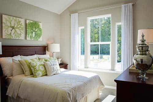 Cozy Guest Bedroom In The Springhaven By Ryan Homes Floorplan; Clinton, PA